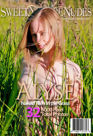 SweetNatureNudes.com Presents Naked Teen in the Grass
