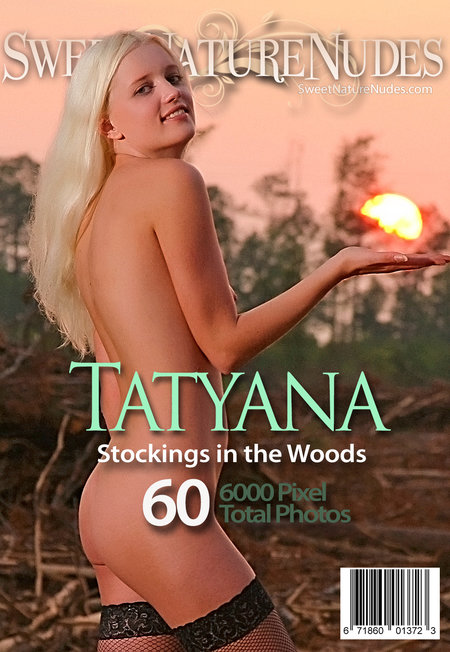 SweetNatureNudes.com Presents Stockings in the Woods