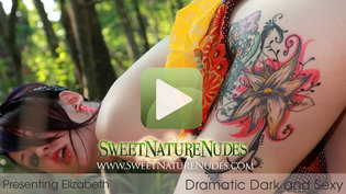 SweetNatureNudes.com Presents Dramatic Dark and Sexy