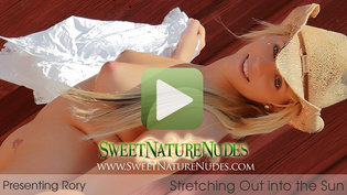 SweetNatureNudes.com Presents Stretching Out into the Sun