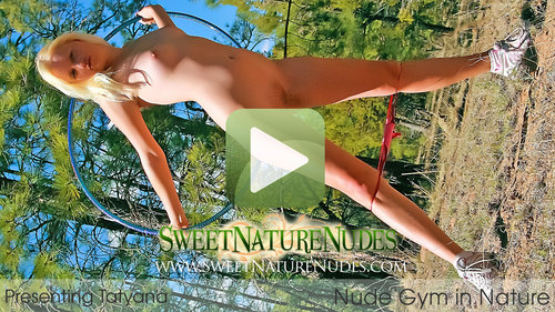 SweetNatureNudes.com Presents Nude Gym in Nature