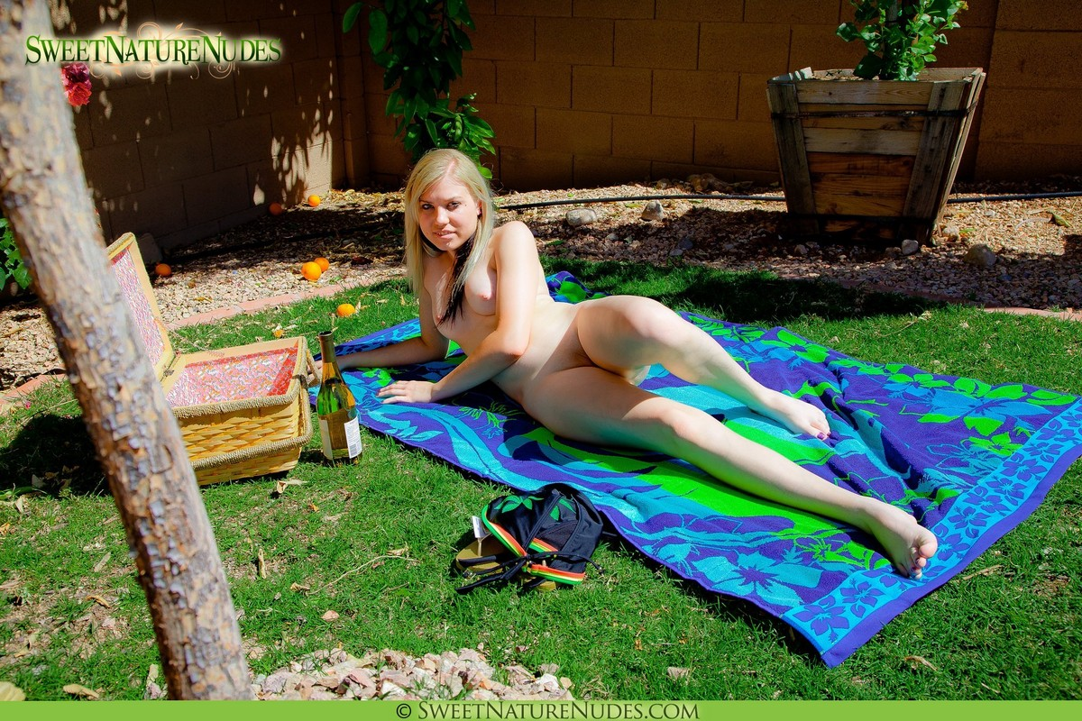Suggest Phot series of girls naked in backyard phrase